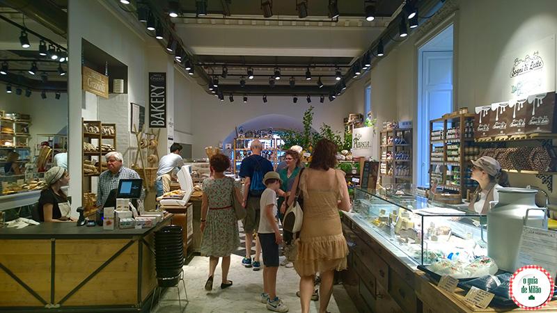 Onde comer em Milão Mercato del Duomo