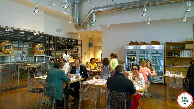 Onde comprar vinho em Milão Eataly