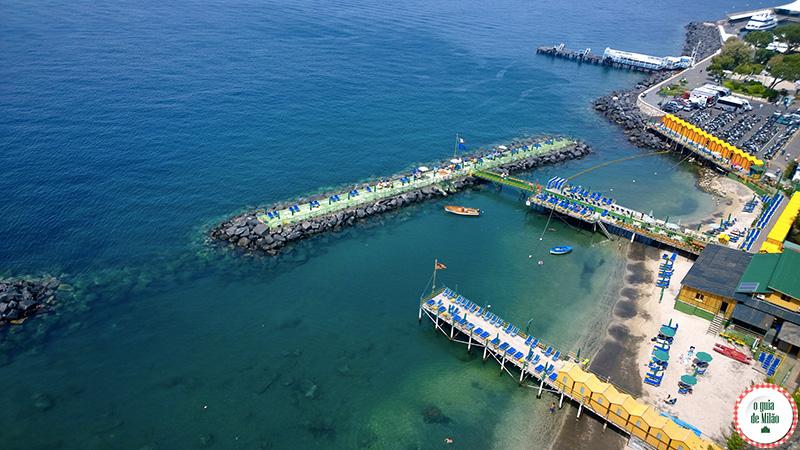 Sorrento Itália Marina Piccola O que fazer em Sorrento