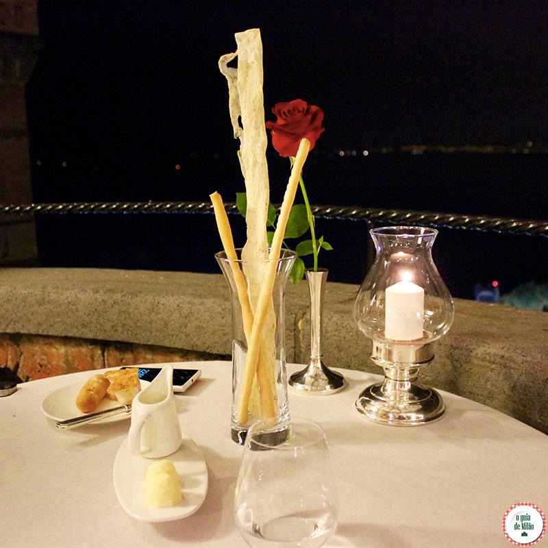 Restaurante uma estrela Michelin em Sorrento na costa Sorrentina