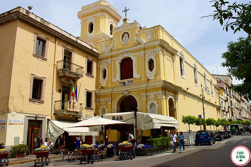 Sorrento Itália: viagem e turismo na Costa Sorrentina