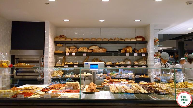 Supermercado lojas gourmet delicatessen em Milão