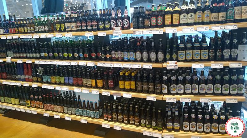 onde comprar cervejas em Milão