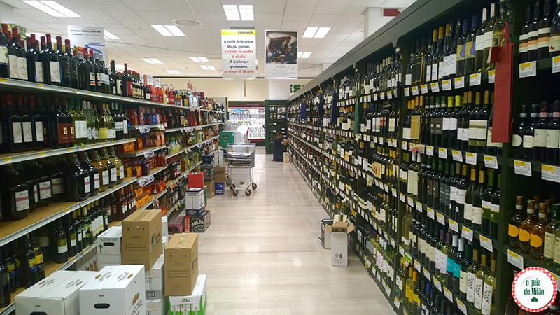 Supermercados em Milão