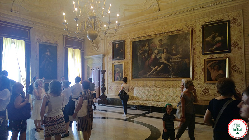 Curiosidades de Milão Sala dell'orologio Museu palácio Marino