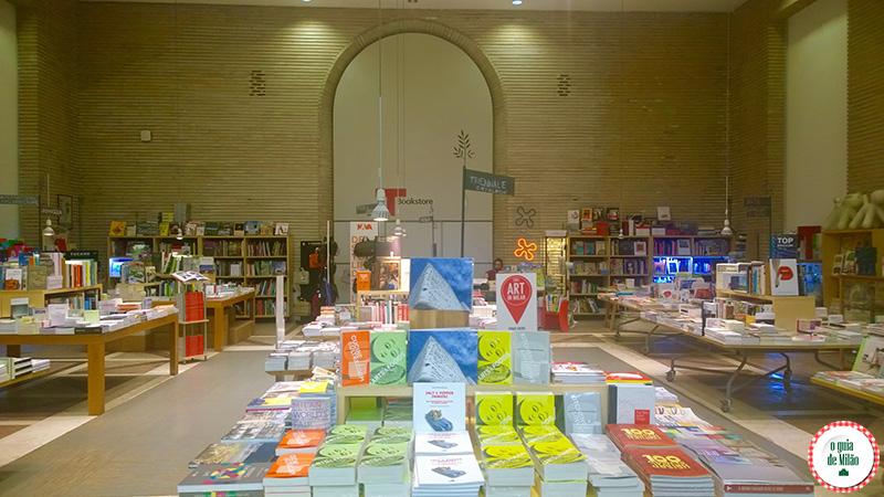 Compras em Milão Triennale Bookstore Milão
