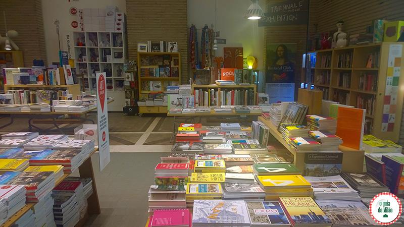 Compras em Milão Triennale Bookstore em Milão