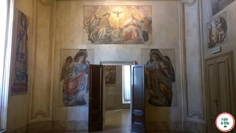 Cultura em Milão Sala della Resurrezione Museu Palácio Marino em Milão