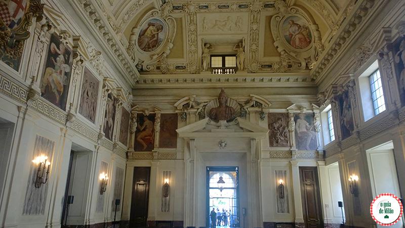 Curiosidades de Milão Sala Alessi Museu Palácio Marino