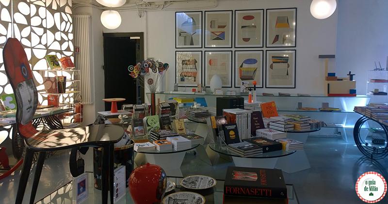 Dica de livrarias em Milão 10 Corso Como Milão