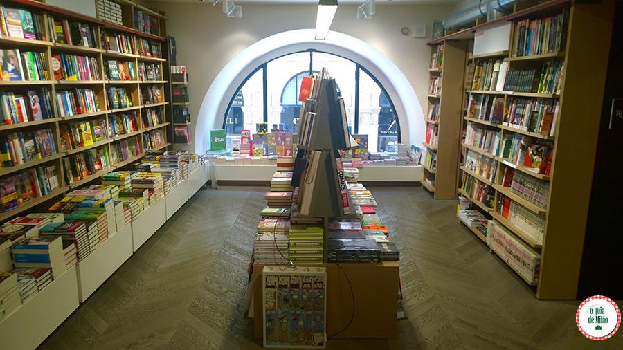 Dica de livrarias em Milão