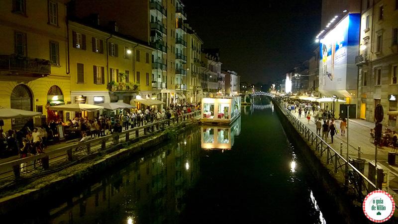 Os melhores bares de Milão à noite
