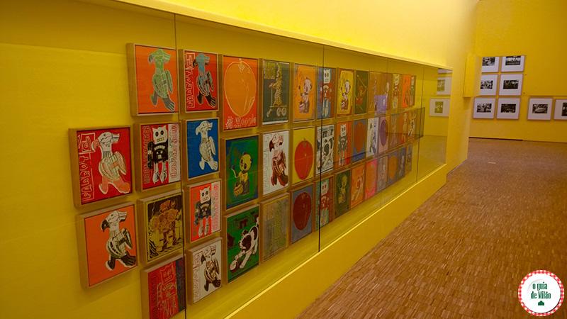 Mostra Art Foods museu de Milão Andy Warhol
