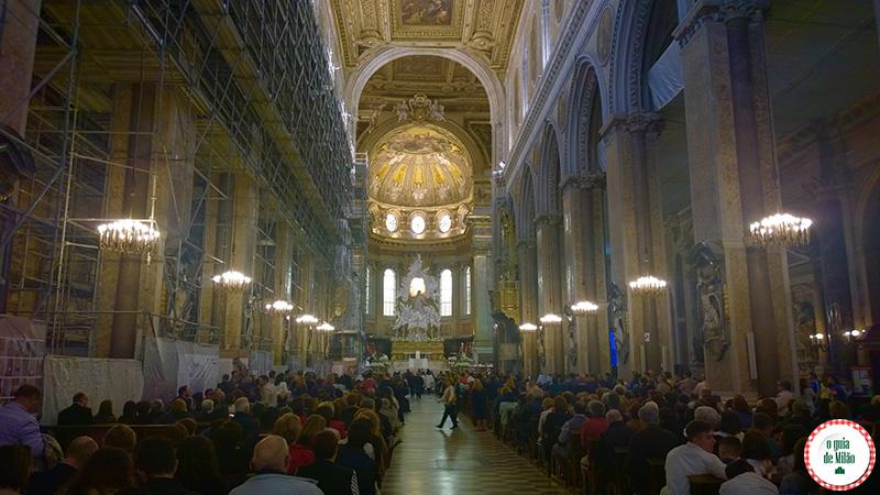 O que ver Nápoles Itália Catedral de Nápoles