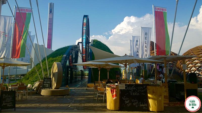 Pavilhão da Bielorrússia na Expo Milão 2015