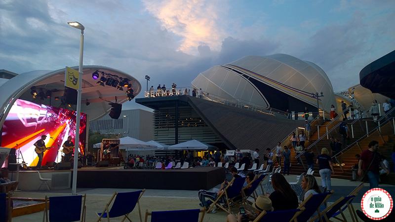 Pavilhão da Alemanha na Expo Milão 2015