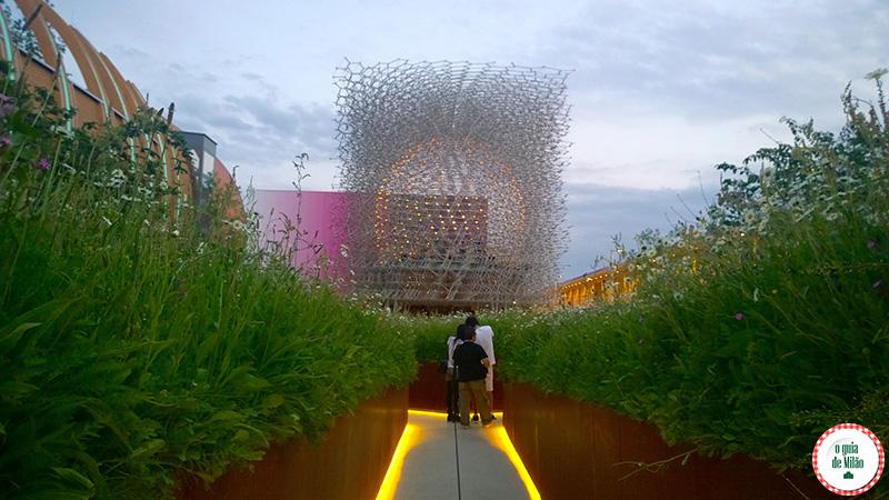 Pavilhão da Inglaterra na Expo Milão 2015