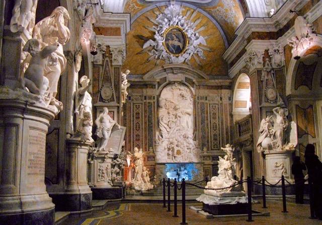 10 Pontos turísticos Nápoles na Itália Capela Sansevero