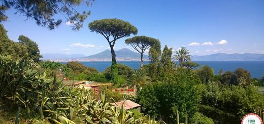 Pontos turísticos Nápoles na Itália O vulcão Vesúvio