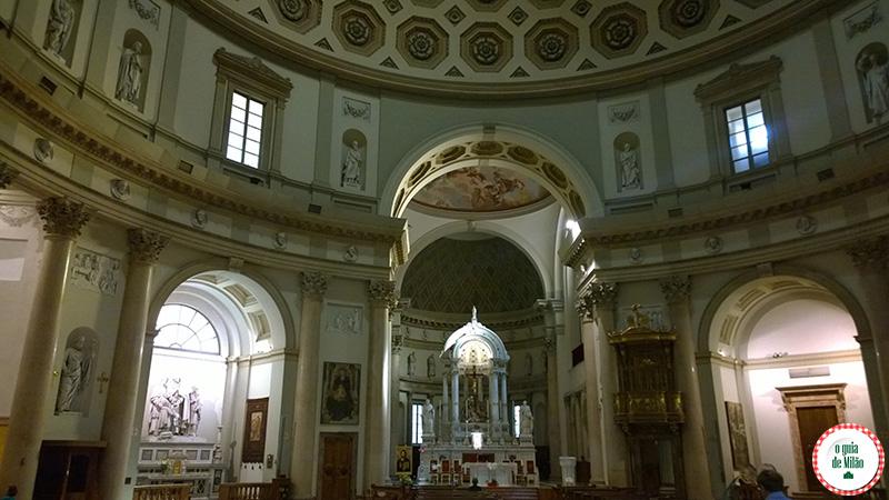 Turismo em Milão a Basílica San Carlo al Corso