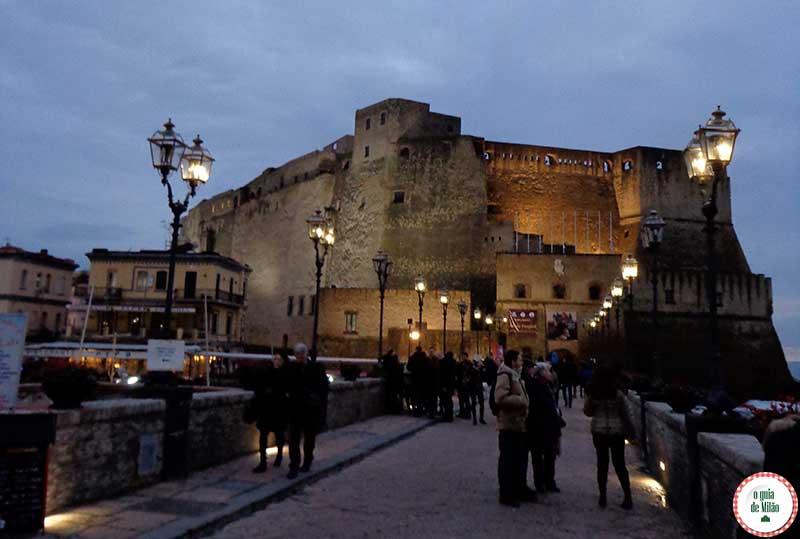 O que fazer em Nápoles Itália Castelo del Ovo Nápoles