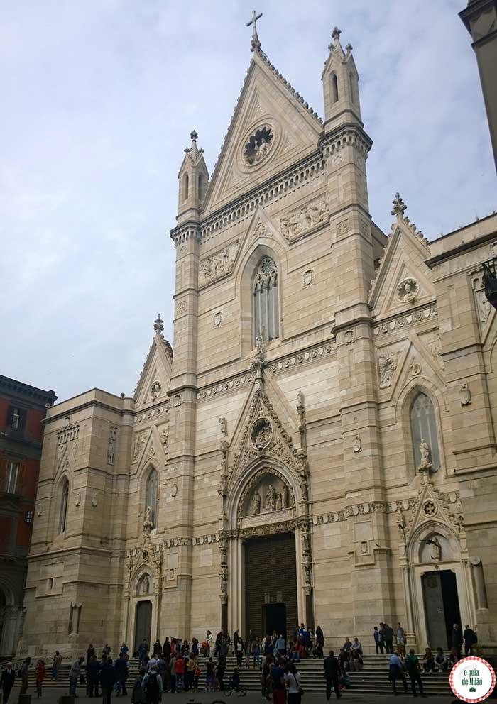 O que fazer em Nápoles Itália O Duomo de Nápoles