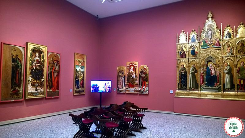 Museus em Milão Pinacoteca de Brera Dicas de Milão