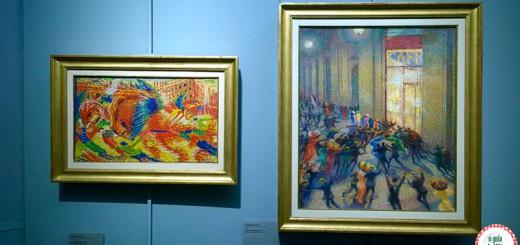 Museus em Milão Rissa in galleria Boccioni Pinacoteca de Brera