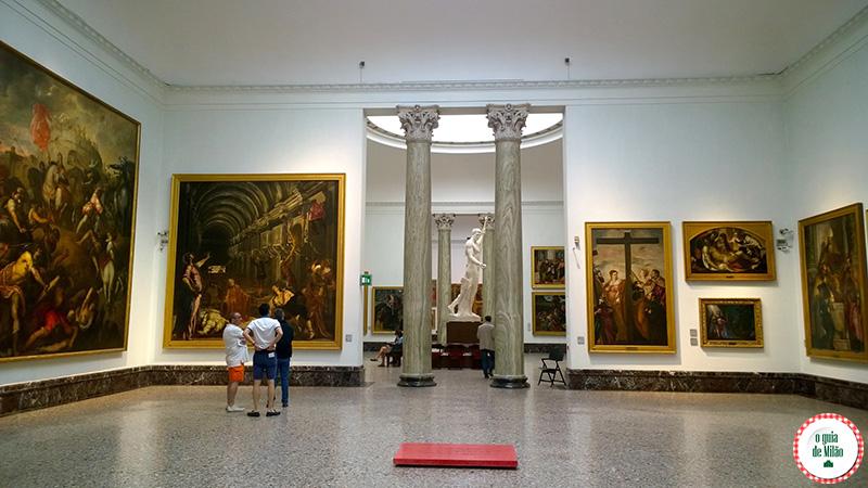 Arte em Milão Turismo em MilãoPinacoteca de Brera