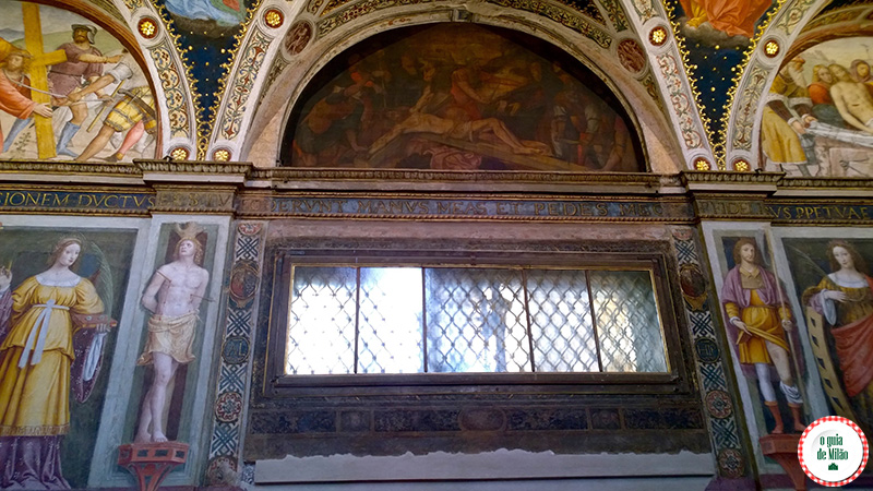 Curiosidades de Milão a cidade de Milão Secreta no Blog de viagem de Milão a Igreja San Maurizio