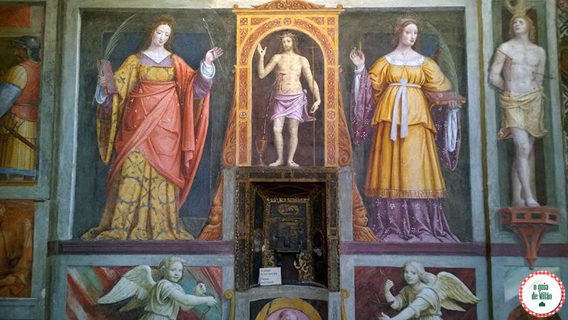 o que fazer em Milão a Igreja San Maurizio a Capela Sistina de Milão