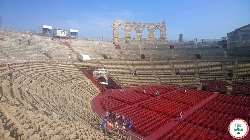 Principais pontos turísticos de Verona Arena de Verona Itália