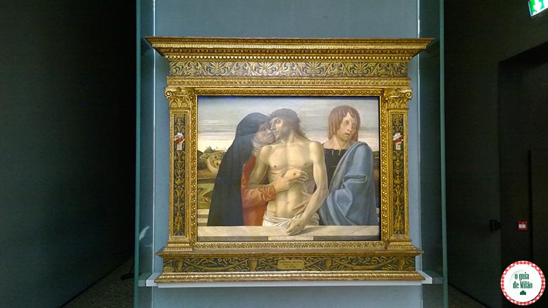 Dicas de arte e museus de Milão Pinacoteca de Brera Pietà Bellini