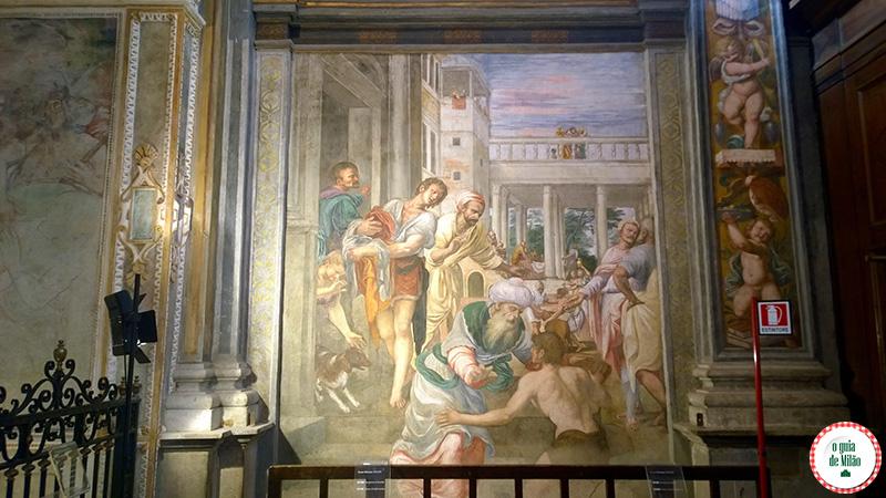 Dicas e curiosidade de Milão o que fazer em Milão Igrejas em Milão Igreja San Maurizio