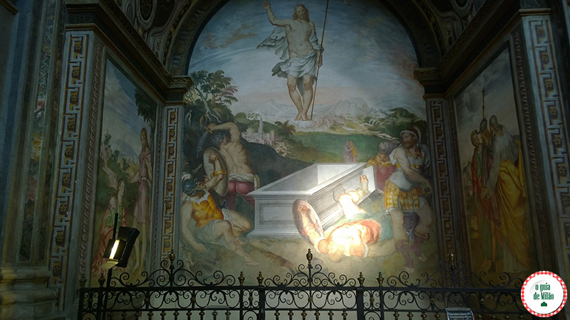 O que fazer em Milão Igreja San Maurizio a Capela Sistina de Milão
