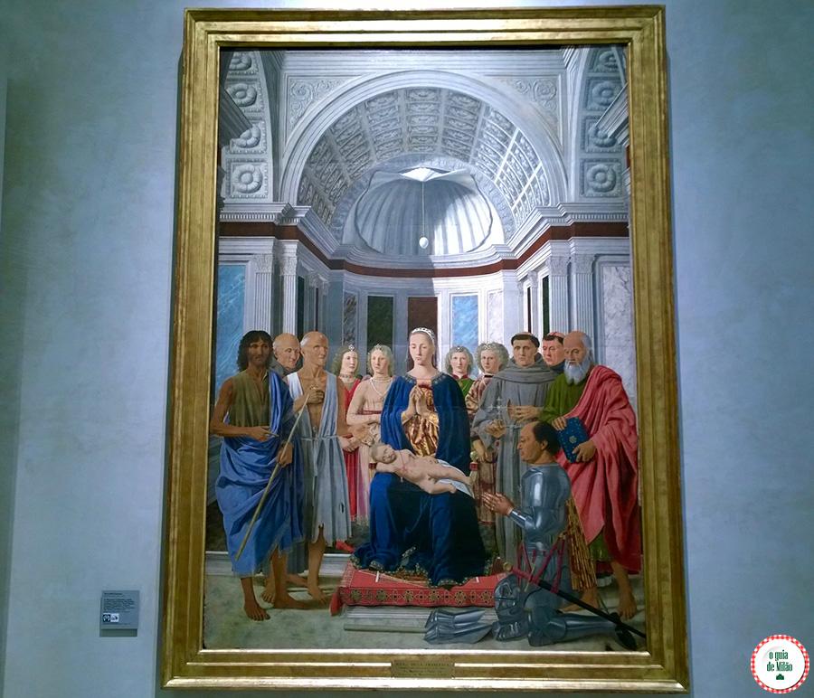 Museu Pinacoteca di Brera em Milão