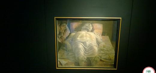 dicas de Turismo em Milão Cristo Morto Mantegna Pinacoteca de Brera