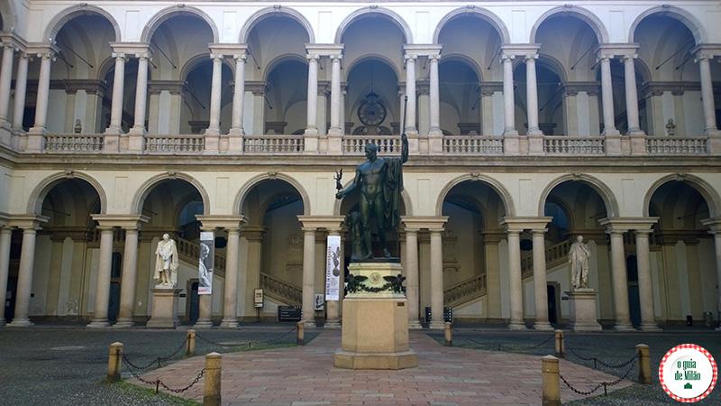 Museus em Milão Arte em Milão Pinacoteca de Brera