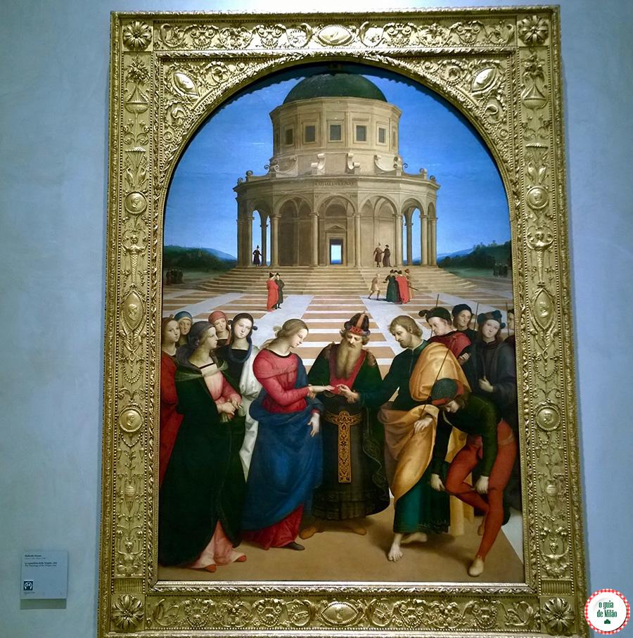 Museus em Milão Pinacoteca de Brera Rafael Raffaello