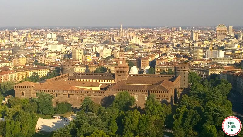 Turismo em Milão Blog de viagem Torre Branca