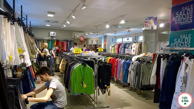 Outlet em MilãoBlog de viagem Il Salvagente Shopping