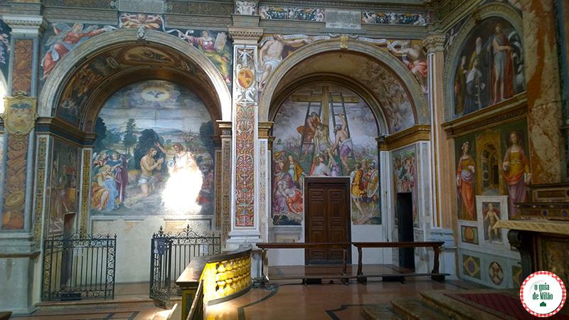 Pontos turísticos de Milão Igreja San Maurizio