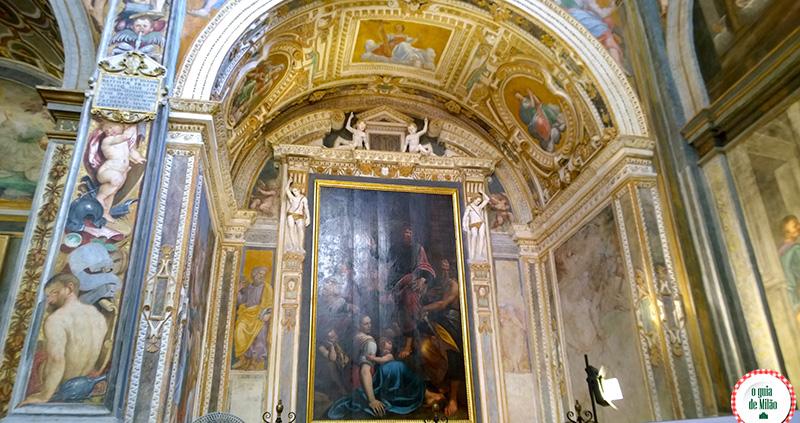Pontos turísticos de Milão Igreja San Maurizio Milão San Paolo