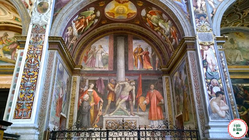 Principais igrejas de Milão a Igreja San Maurizio a Capela Sistina de Milão
