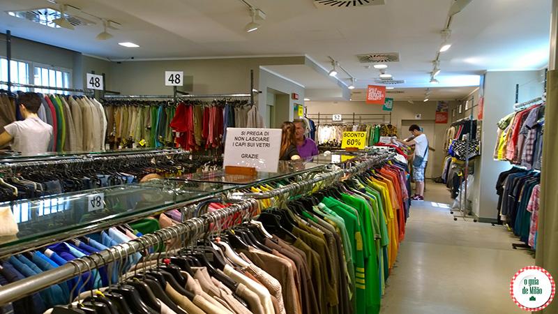 Shopping em Milão Compras em Milão il Salvagente