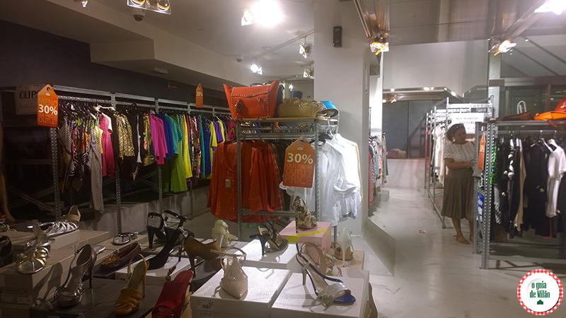 Compras em Milão Outlet em Milão The highline outlet