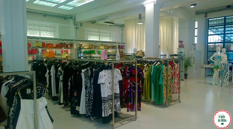 Shopping em Milão Emporio Isola