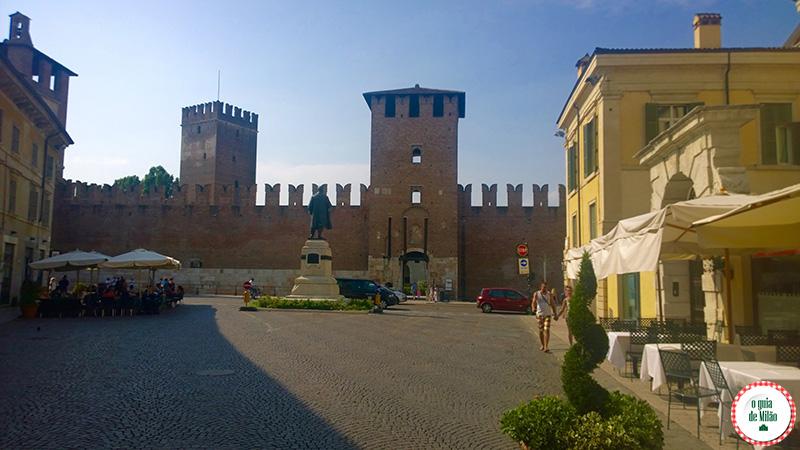 Turismo Verona Itália Castelvecchio Verona