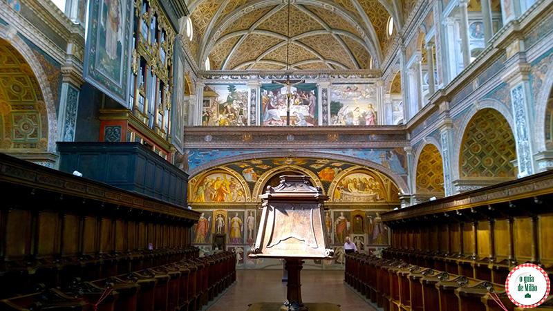 Turismo em Milão Igreja San Maurizio a Capela Sistina de Milão