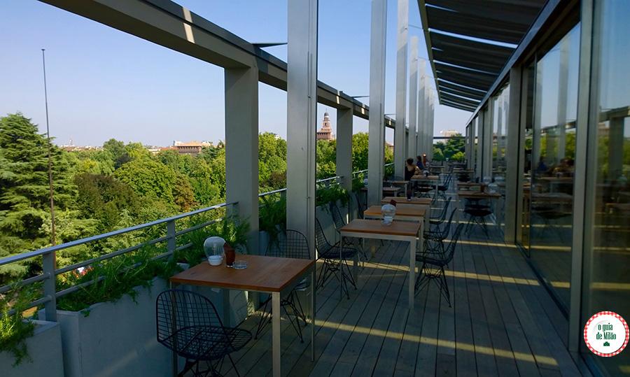 Dicas de bares com vista panorâmica para a cidade de Milão